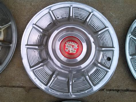 Cadillac Hubcaps For Sale by 1957 Cadillac Hubcaps The H A M B