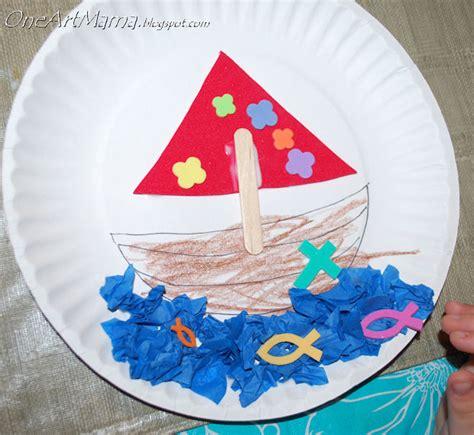 boat crafts for boat craft week seven alive