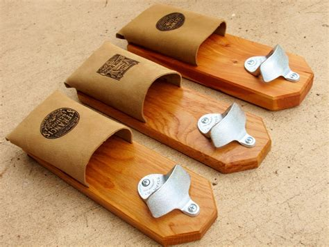 popular woodworking projects made magnetic bottle openers by woodworking