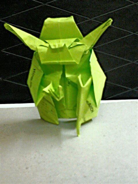 fumiaki kawahata origami yoda origami jedi master yoda fumiaki kawahata by