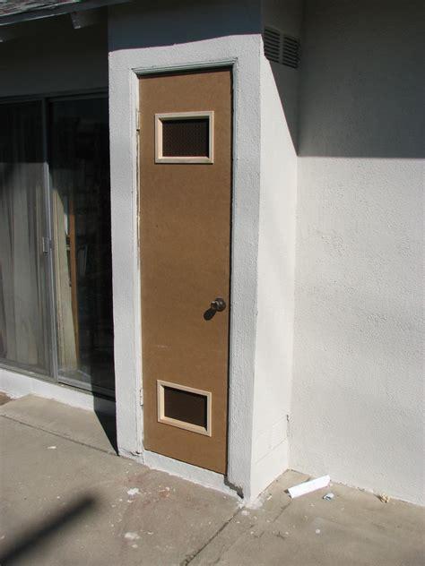 water heater closet door heater door water heater closet door home depot