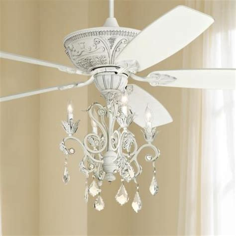 ceiling fans with chandeliers 60 quot casa montego rubbed white chandelier ceiling fan