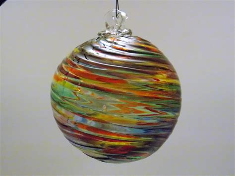 handblown glass blown glass ornament friendship