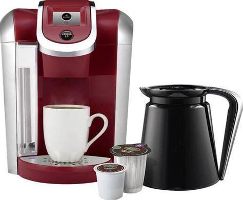 Keurig 2.0 K450 K Cup Machine & K Carafe Coffee Maker Brewer   RED   BRAND NEW   eBay