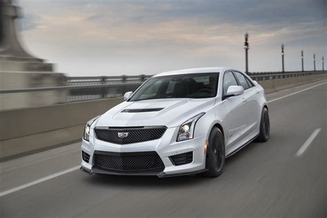 Cadillac Sports Sedan by 2017 Cadillac Ats V Carbon Black Revealed Gm Authority
