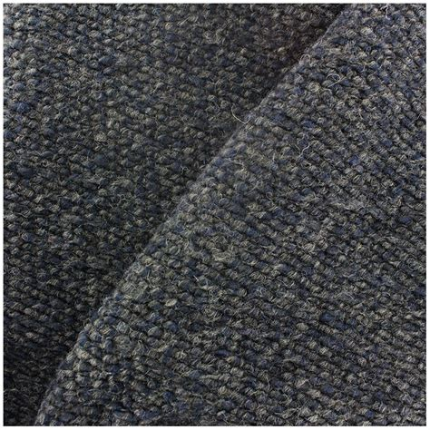 wool knit wool knit fabric blue grey x 10cm ma mercerie