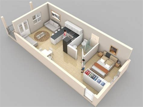one bedroom design creative one bedroom house plans that promote eco friendly