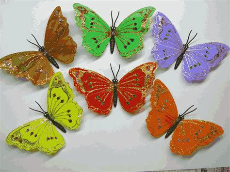 butterfly crafts for china artificial crafts artificial feather butterfly