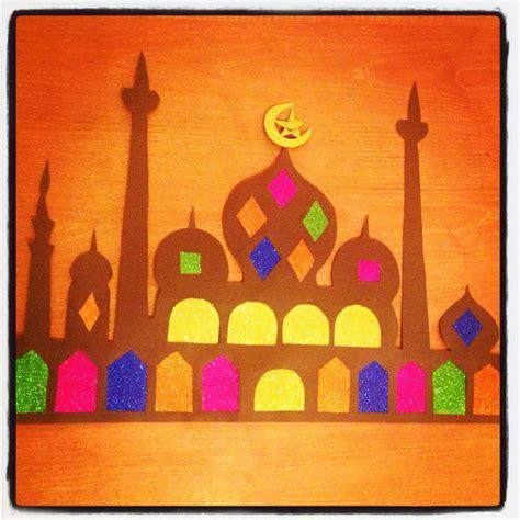 ramadan crafts for ramadan decoration craft mosque ramadan