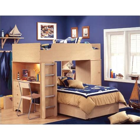 loft beds with desks loft bed with desk casual cottage
