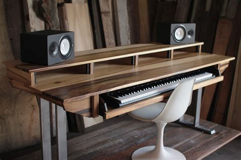 studio work desk size 88key studio desk for audio