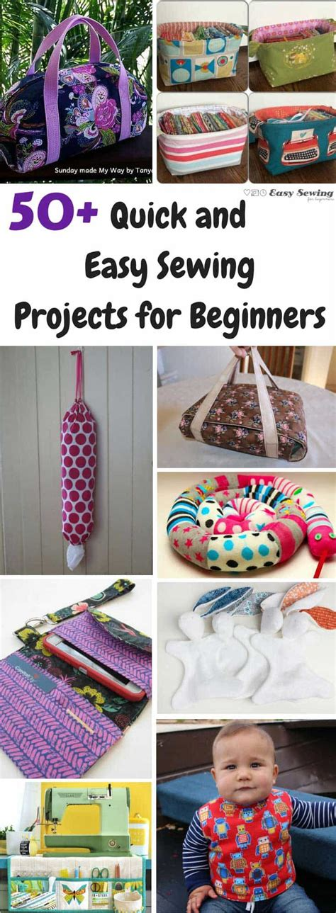 projects for beginners 50 and easy sewing projects for beginners easy