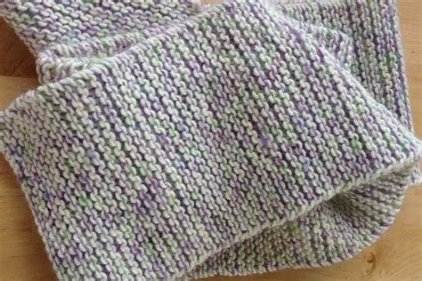 garter stitch in knitting garter stitch scarf pattern