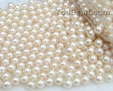 pearling beading 6 6 5mm white pearl wholesale aa