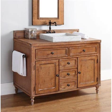copper bathroom vanity martin copper cove 48 quot single bathroom vanity in