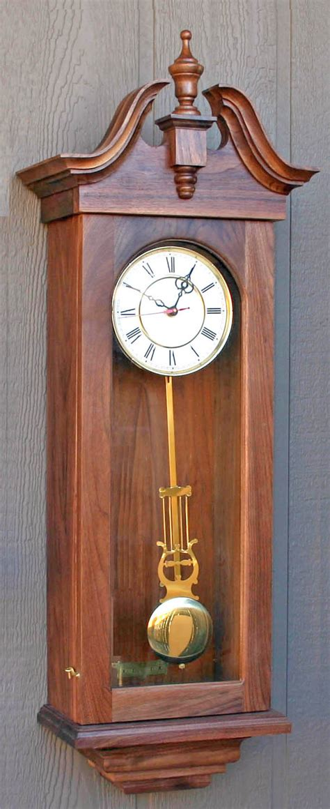 clock plans woodworking one of three clocks in one plan from size patterns
