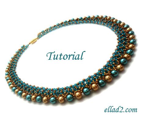 bead necklace tutorial patterns tutorial freya necklace bead pattern