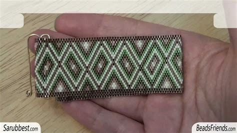 how to put a clasp on a beaded necklace beadsfriends clasp flat even count peyote