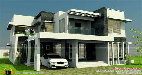 all in one house elevation floor plan and interiors