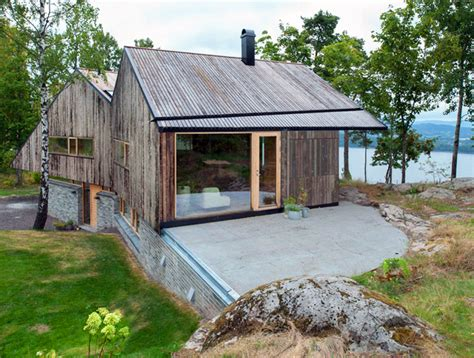Farmhouse Home Designs rustic double gabled home offers amazing views of the