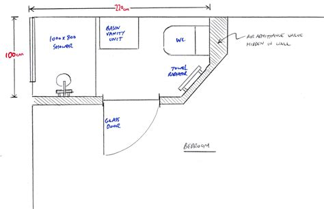 floor plans for bedroom with ensuite bathroom small ensuite plans home design