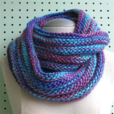 mobius cowl free knitting pattern patterns knit o matic