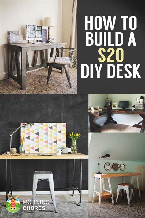 diy build a desk how to build a desk for 20 bonus 5 cheap diy desk plans