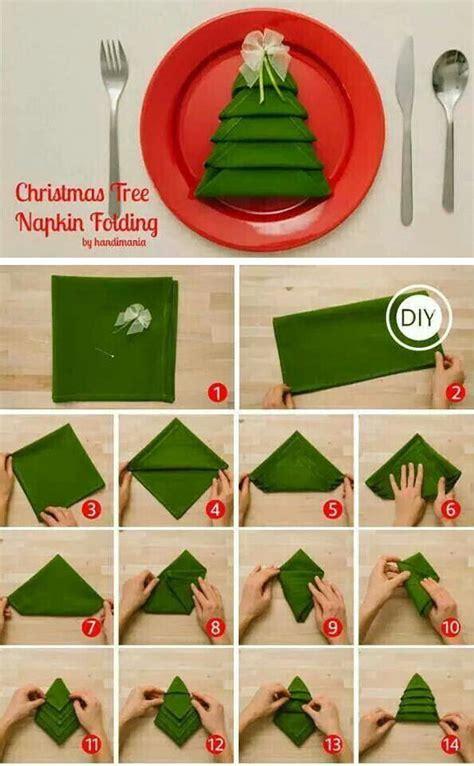 servietten falten weihnachtsbaum how to fold tree napkins pictures photos and