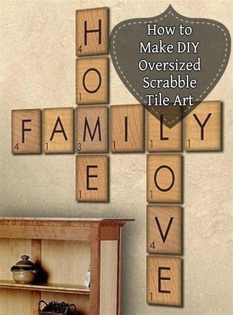 make word scrabble best 20 scrabble tile crafts ideas on