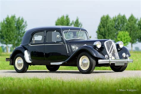 Citroen Traction by Citro 235 N 15 Six Traction Avant 1951 Classicargarage De