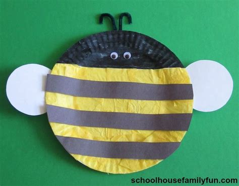 bumble bee paper plate craft 17 best images about bumble bee on