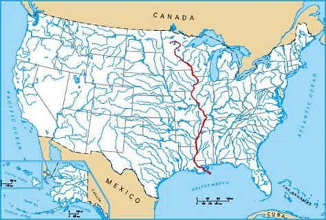 the bridges and structures of the mississippi river