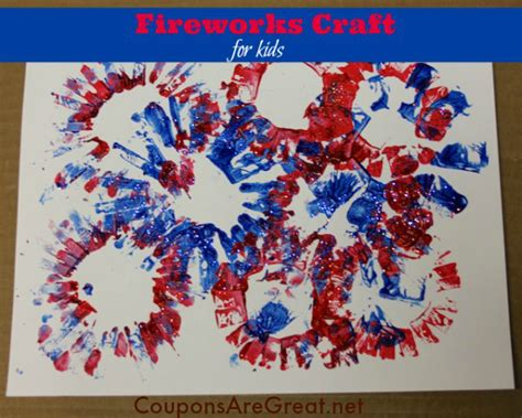 paper fireworks crafts patriotic craft for painted toilet paper roll fireworks