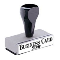 business rubber st customize your local hens business cards using this rubber
