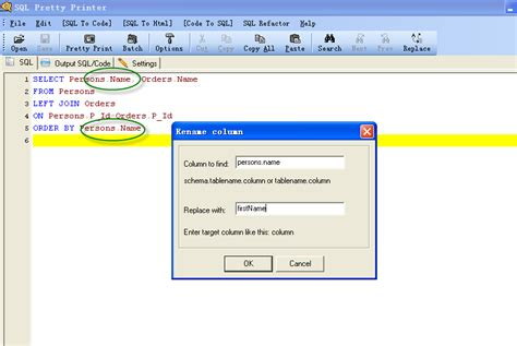 sql query to change table name how to change table name in sql asp net and sql server