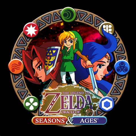 the legend of oracle of ages the legend of oracle of ages and oracle of seasons