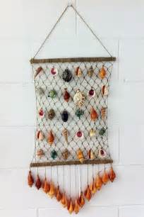 hanging craft projects seashell craft wall hanging decoration ideas craft