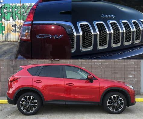 Mazda Cx 5 Compared To Honda Crv by Crv Touring Vs Autos Post