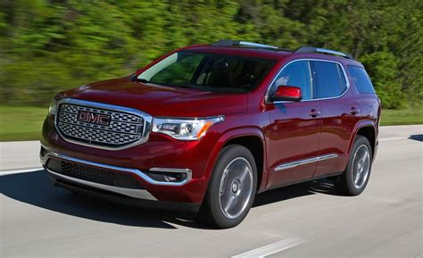 Gmc Acadia Review by 2019 Gmc Acadia New Review Car 2018 2019