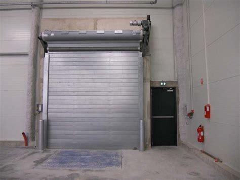 portes sectionnelles industrielles rideau metallique coupe feu