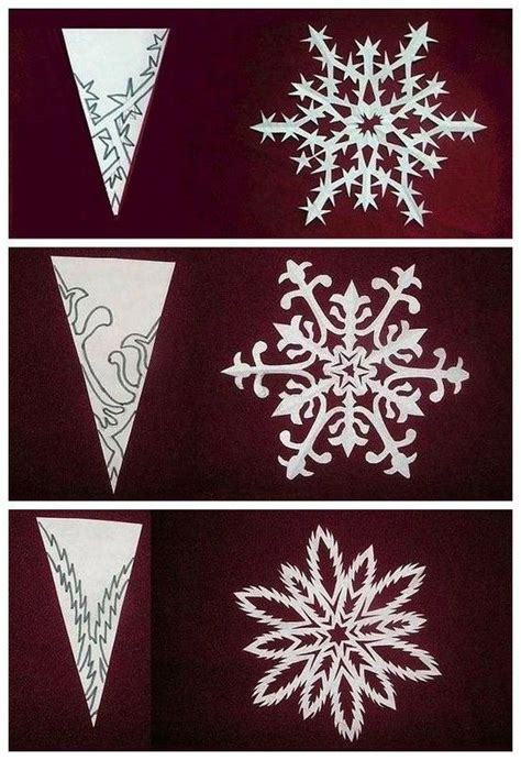 snowflake paper crafts diy snowflake craft ideas