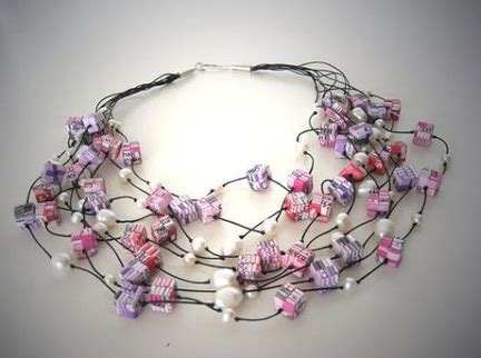 how to make jewelry with paper paper jewelry