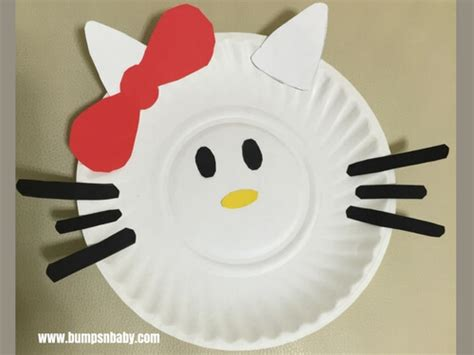 hello paper craft 4 paper plate craft ideas you can do with your preschooler