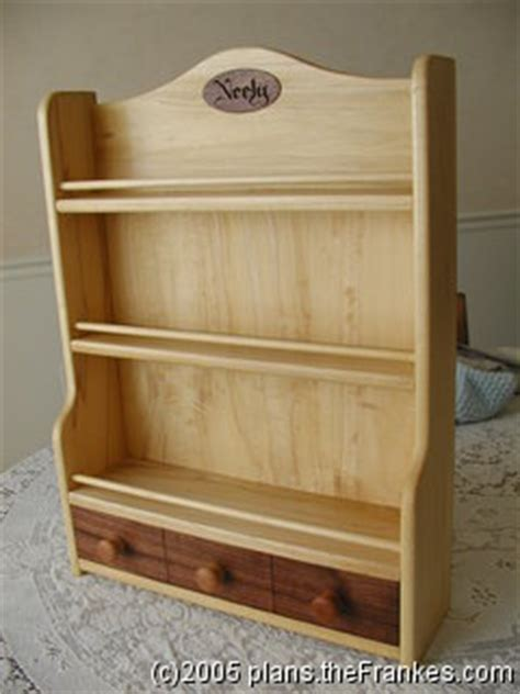 spice rack woodworking plans woodwork spice rack plans drawer pdf plans