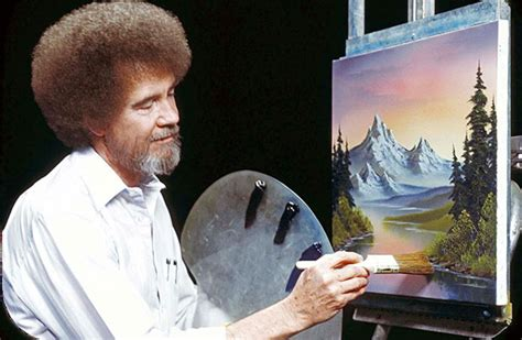Four Personal Branding Secrets From Of Painting S Bob Ross