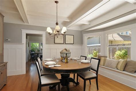 pictures of wainscoting in dining rooms height of wainscoting dining room robinson house decor