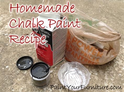 chalk paint diy plaster of chalk paint recipe plaster of hometalk