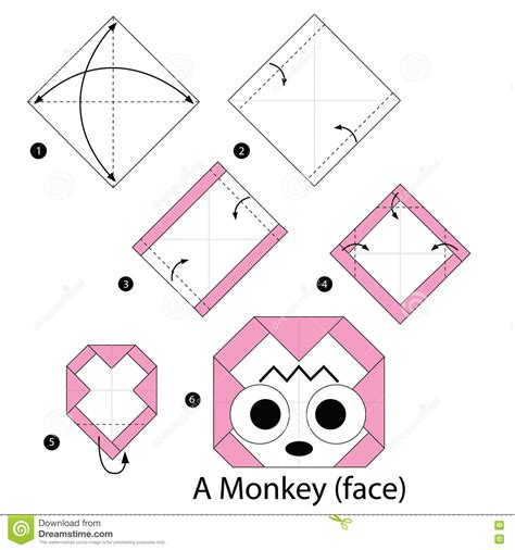how to make a origami monkey step by step how to make origami a monkey