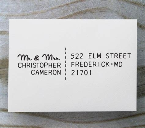 custom address rubber st custom address st self inking rubber st return