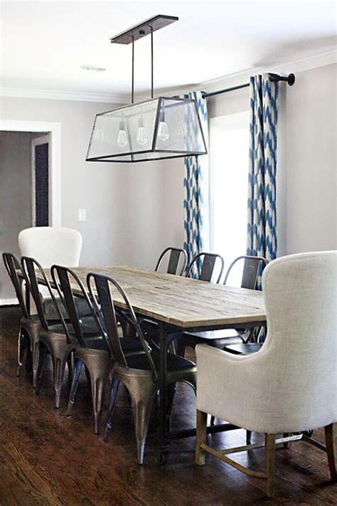 metal dining room table and chairs best 25 metal dining chairs ideas on white